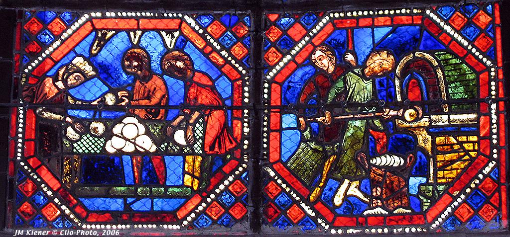 Quelques métiers médiévaux Boulangers