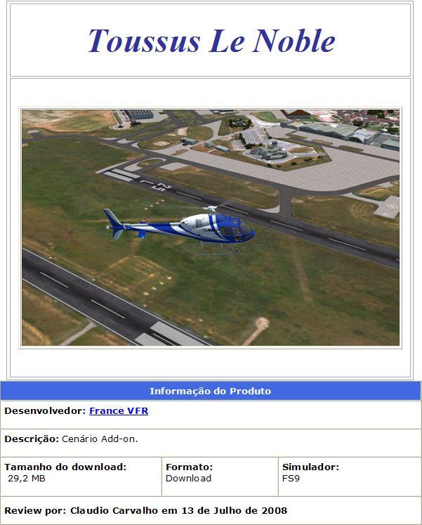 Toussus Le Noble - France VFR (Review de Claudio Carvalho) 1216092905-clip-74kb