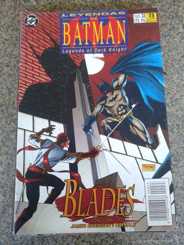 Busco Leyendas de Batman de editorial Zinco - numeros sueltos 58359933