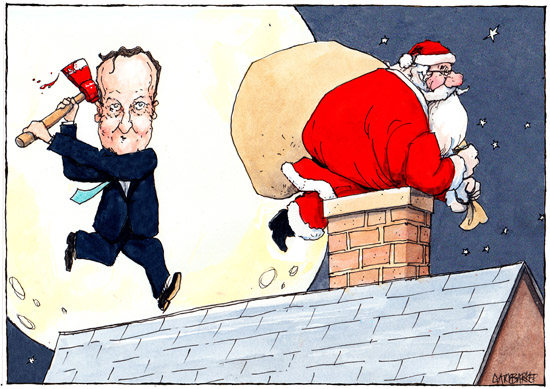 Is David Cameron a moron from the outer reaches of the universe? (Part 1) - Page 23 Cam-santa2-blog