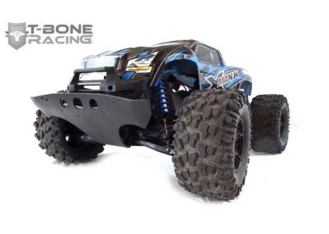 [NEW]Protection Triangle av/arr/Parechoc av/Wheelie bar/front bumper/Arm skids X-Maxx T-Bone Racing Tbone1