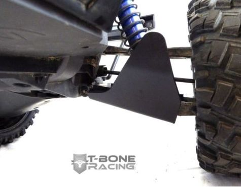 [NEW]Protection Triangle av/arr/Parechoc av/Wheelie bar/front bumper/Arm skids X-Maxx T-Bone Racing Tbone5