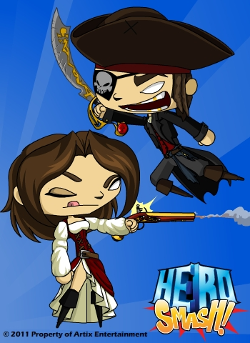 HeroSmash Peny & Robo0000100 DN-PirateArmors
