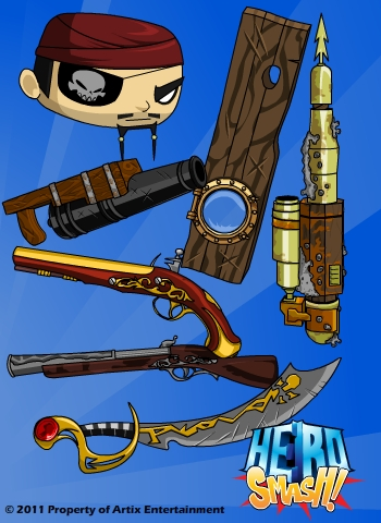 HeroSmash Peny & Robo0000100 DN-PirateItems
