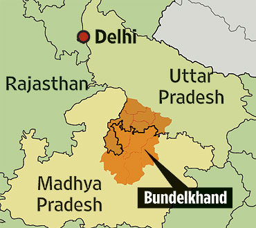 #28 - Main news thread - conflicts, terrorism, crisis from around the globe - Page 3 Bundelkhand_map_20091005