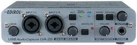 Petardeo con una Edirol UA25 y volumen digital Ua_25_main