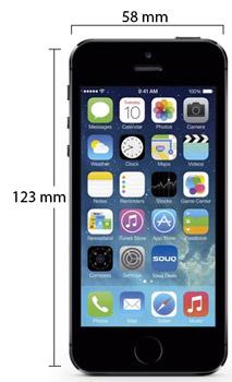 سعر ومواصفات ابل ايفون 5S - سعة 16 جيجابايت, الجيل الرابع LTE, رمادى Apple_iphone_5c_grey