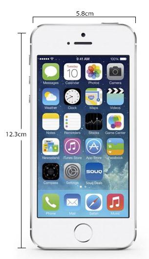 سعر ومواصفات ابل ايفون 5S بدون تطبيق فيس تايم - سعة 64 جيجابايت, الجيل الرابع LTE, فضي Iphone_5s_silver