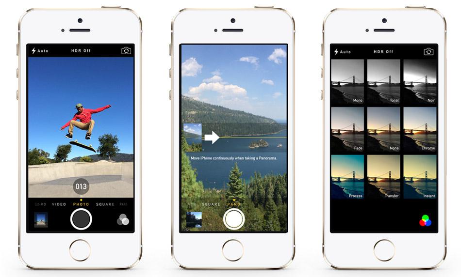 سعر ومواصفات ابل ايفون 5S بدون تطبيق فيس تايم - سعة 64 جيجابايت, الجيل الرابع LTE, فضي Isight_camera_gold