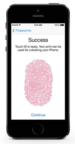 سعر ومواصفات ابل ايفون 5S - سعة 16 جيجابايت, الجيل الرابع LTE, رمادى Touch_id_black