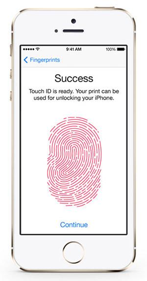 سعر ومواصفات ابل ايفون 5S بدون تطبيق فيس تايم - سعة 64 جيجابايت, الجيل الرابع LTE, فضي Touch_id_gold