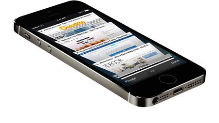 سعر ومواصفات ابل ايفون 5S - سعة 16 جيجابايت, الجيل الرابع LTE, رمادى Wireless_black