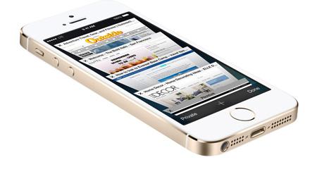 سعر ومواصفات ابل ايفون 5S بدون تطبيق فيس تايم - سعة 64 جيجابايت, الجيل الرابع LTE, فضي Wireless_gold