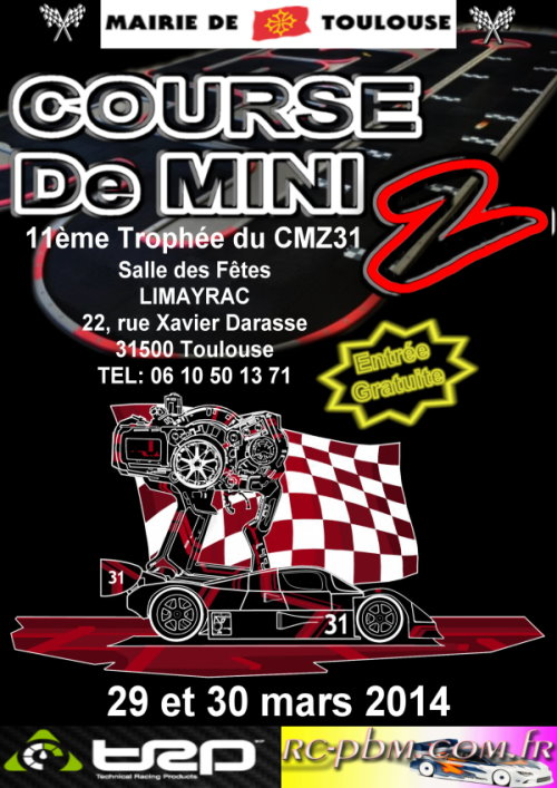 11ème trophée du CMZ 31 à Toulouse le 29 / 30 Mars 2014 2014