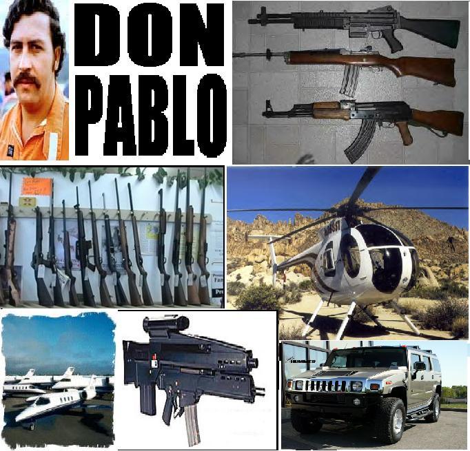 Kriminele te medhenj qe kane ndikuar ne histori Pablo-paraphernalia