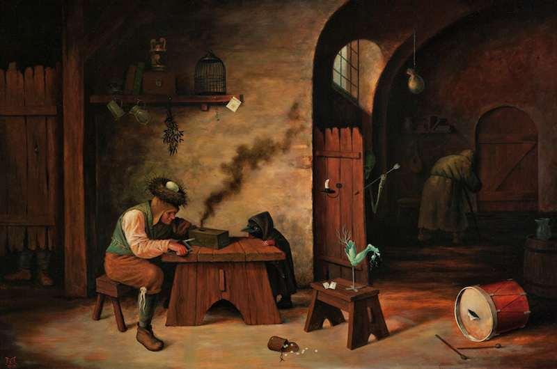 Las enigmáticas pinturas de el Bosco (Misterio resuelto) - Página 2 Davis_Smoking-Box_AMrevwebMS