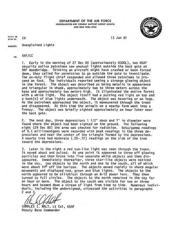 Info Extraterrestre: Abducciones - Contactos - Razas - Etc. - Página 11 Memo-rendlesham
