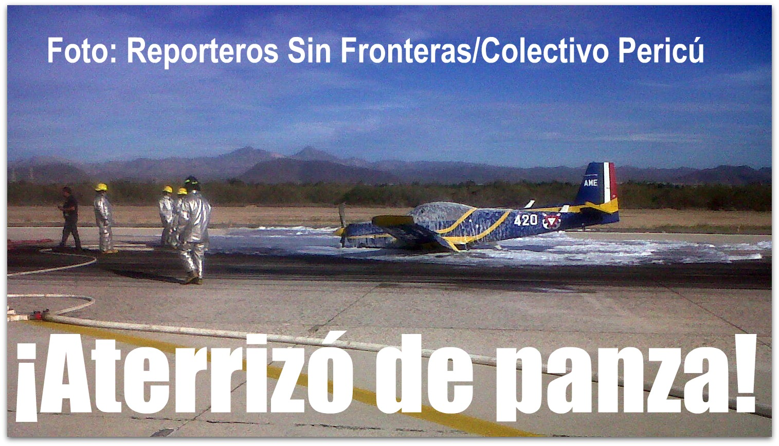 Accidentes de Aeronaves de la SEMAR. Noticias,comentarios,fotos,videos.  Avion-aeropuerto-de-la-paz