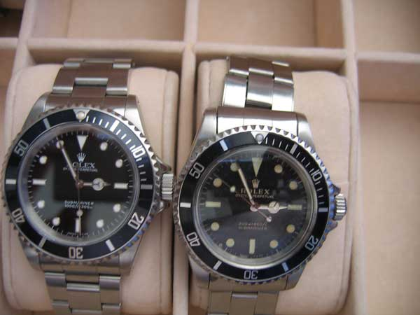 Rolex Submariner : Vintage ou une version actuelle ? 196