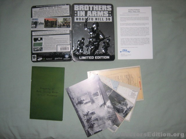 Listing Boitiers Métal PS2 Brothers-in-Arms-RH30