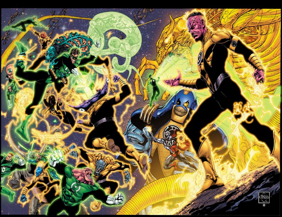 [DC Comics] Green Lantern: Discusión General - Página 2 Sinestro_Corps_War