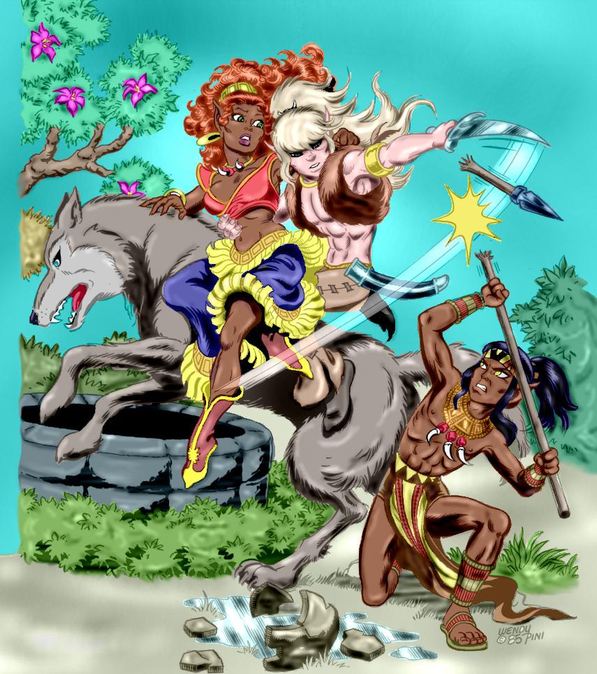 Digitally coloring B&W Images. - Page 3 Elfquest_Colored_0001