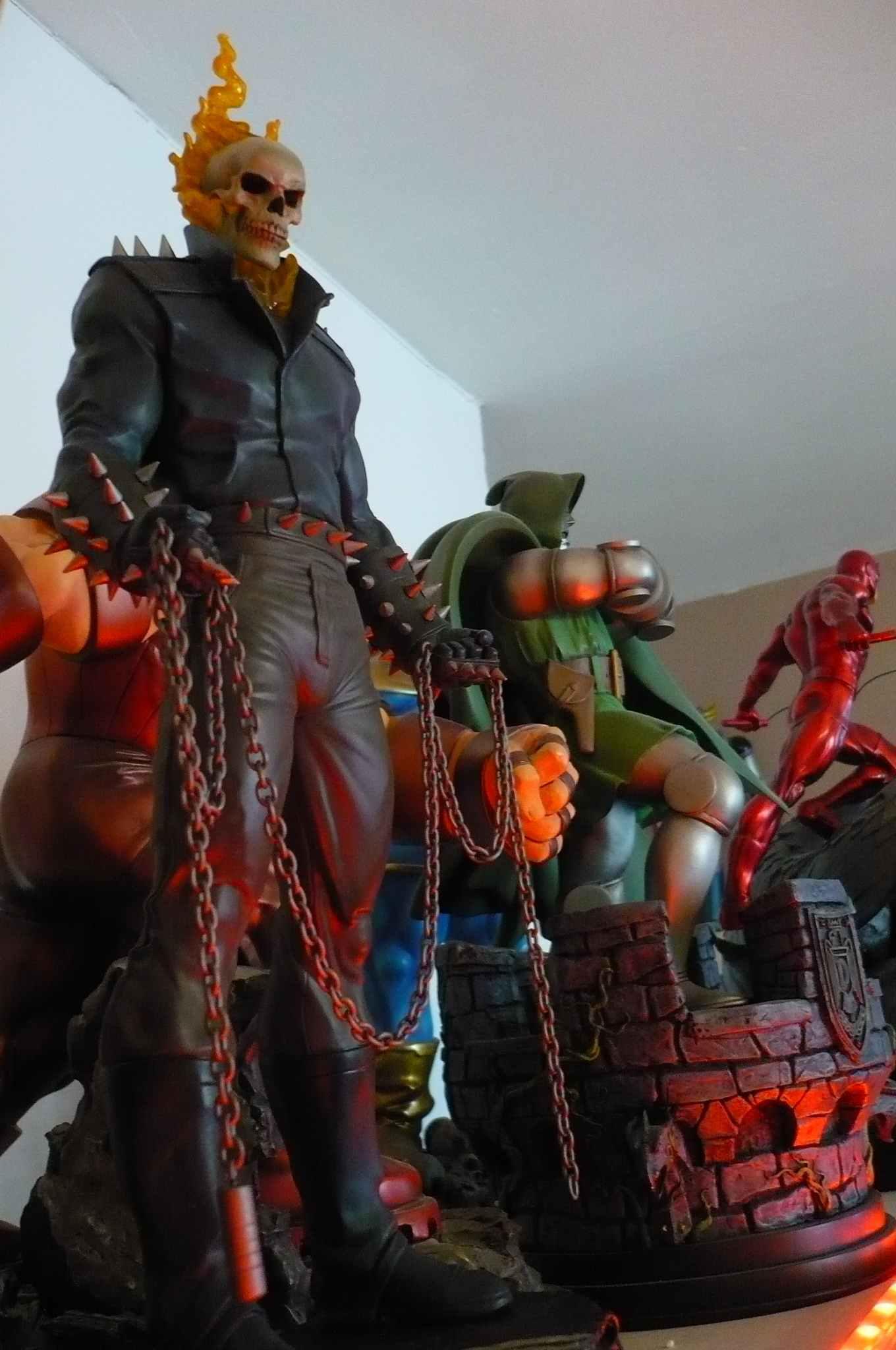 "MOTARD FANTÔME ""D.Ketch / museum"" (Ghost Rider II) 7"