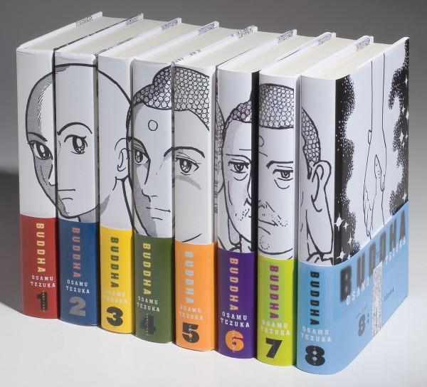 Manga - preporuke, analize, diskusije... - Page 2 Buddha_spines-600x544