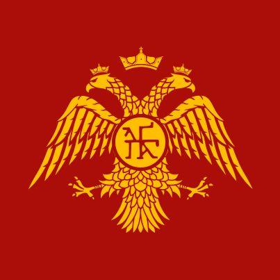 """steagul """"alb-galben-negru"""" Palaiologos-Dynasty-Eagle"""