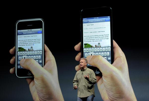 Llega el iPhone 5: más grande y más fino 1347473449645_fotosagencias_20120912_195727