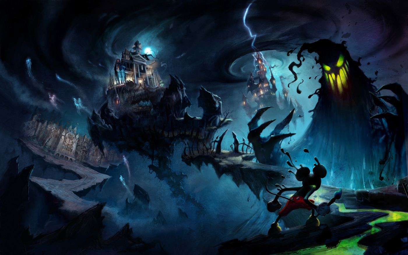 Last Game You Finished And Your Four-ghts - Page 38 Epic-Mickey-Concept-Art-Jordan_Lamarre-Wan_12b