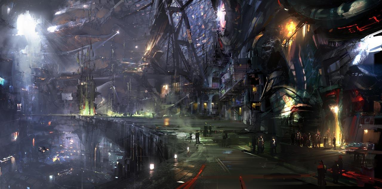 Város Guardians_of_the_Galaxy_Concept_Art_Atomhawk_Knowhere01