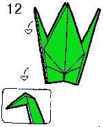 Cách gấp hạc giấy đơn giản ( kèm video hướng dẫn ) Cach-gap-hac-12