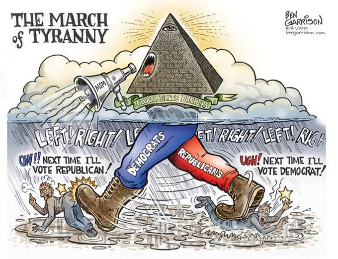 Beyond Left and Right – Where Do We Get Our News? – Foster Gamble 1-march-of-tyranny