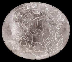 The All-Seeing Eye: Sacred Origins of a Hijacked Symbol Rattlesnake_disc_hamsa-300x260