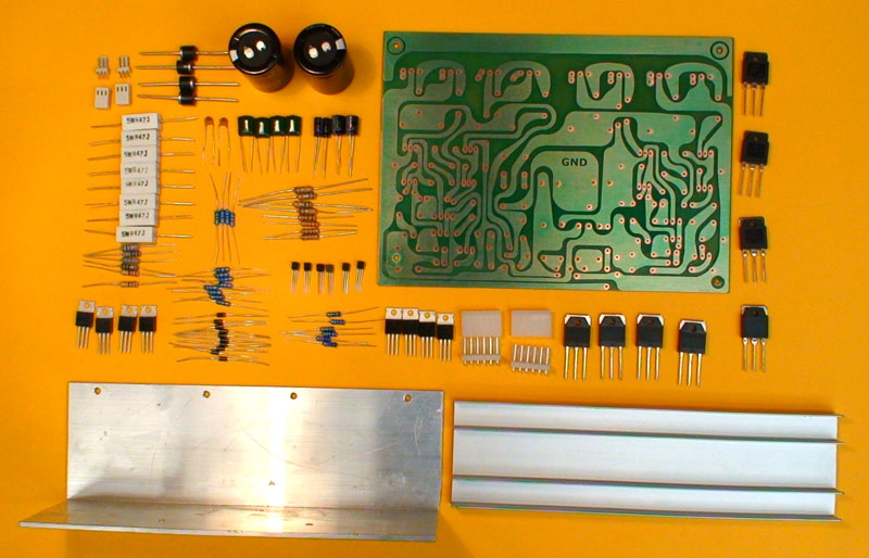 Como montar um amplificador de 400Watt Amp400w01
