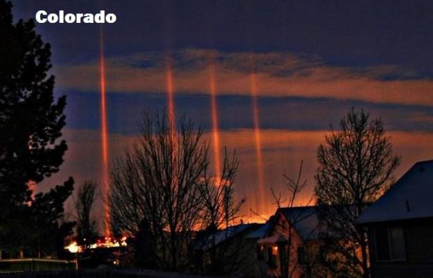 Событие. Солнечный импульс. Раскрытие.  AURORA-CO-light-pillars-7