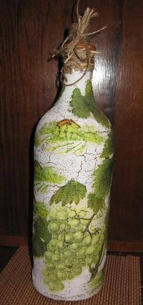 Мой опыт кракелюра или как я мучила бутылку I-1849