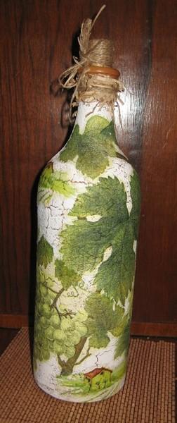 Мой опыт кракелюра или как я мучила бутылку I-1850