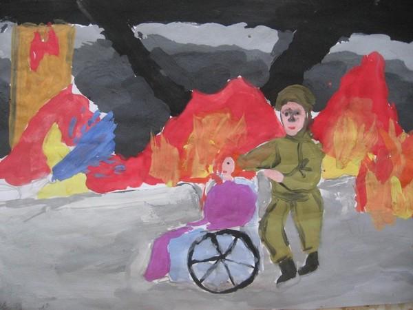 Рисунки детей I-466