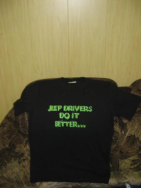 Футболки Jeep с символикой I-2009
