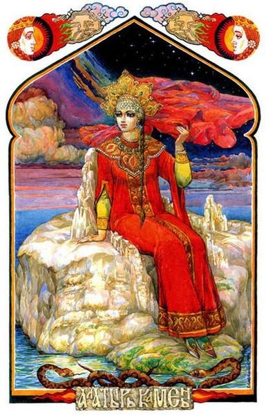 Времена года. Боги славян I-384