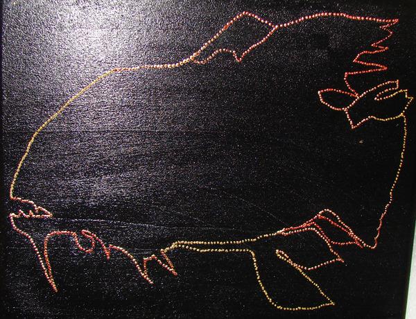 """Мастер-класс """"Роспись с использованием готовых рисунков""""    I-2918"""