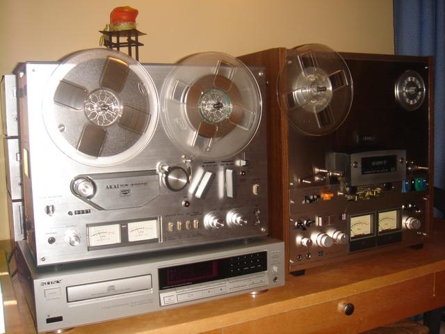 Audio un video tehnika, stereosistēmas, mājas kinozāles - bildēs. AKAI-GX-4000D-uz-2-celiem-5.sized