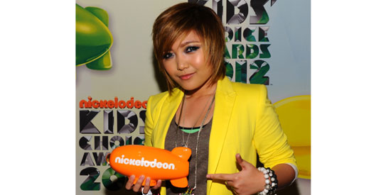 04/02/12 - PEP - Charice hailed as Favorite Asian Act in 2012 Nickelodeon Kids' Choice Awards Af40af4af