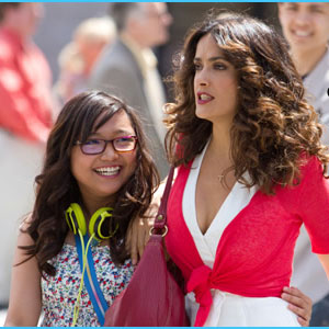 """06/08/11 - PEP - Charice says it was """"nice working"""" with Salma Hayek in Here Comes the Boom Fa762c235"""