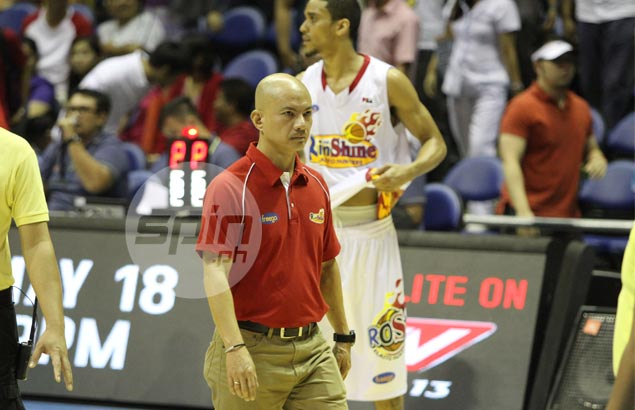 Rain or Shine's opening-day assignment vs San Mig leaves Yeng in foul mood Rosyeng