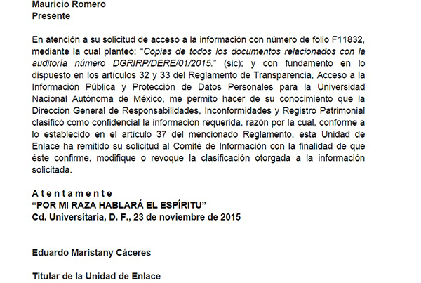 Corrupción en la UNAM, solapada por Narro y Graue Unam-04