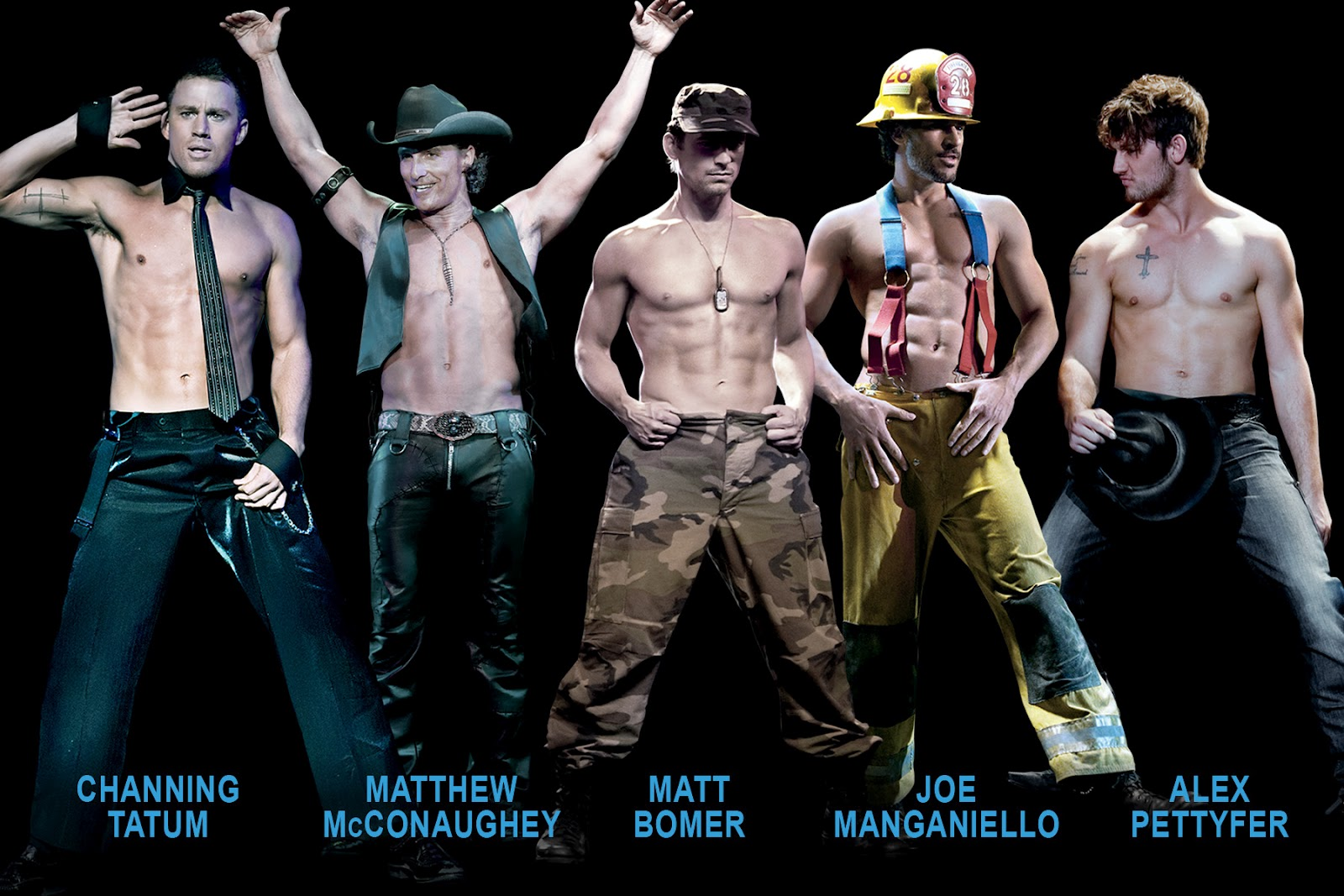 Emoticons in Categories Magic-mike
