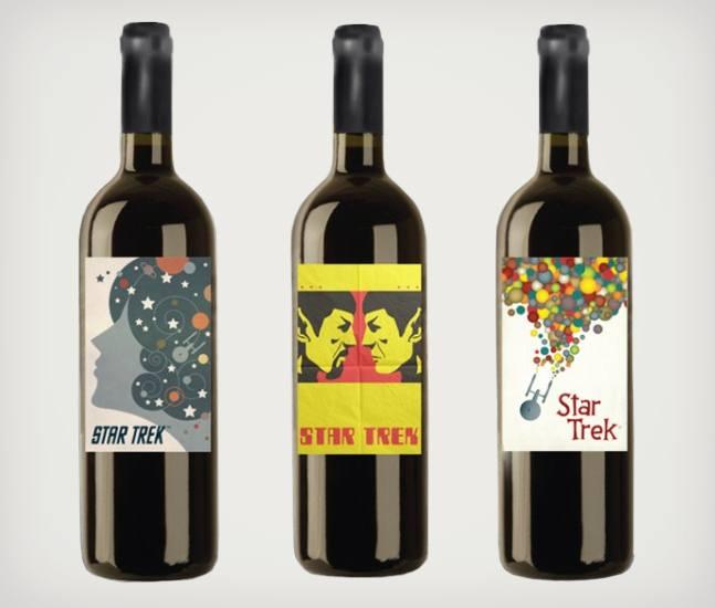 Oheistuotteiden hankkimis ohjeistusta Star-Trek-Wine